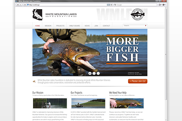 White Mountain Lakes Foundation Website